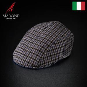 帽子 ハンチング メンズ レディース MARONE マローネ Corso コルソ キャップ 秋冬|homeroortega