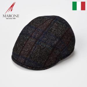 ハンチング メンズ 帽子 大きいサイズ 秋 冬 キャップ 紳士 MARONE リッコ|homeroortega