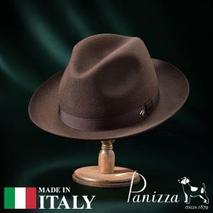 帽子 フェルトハット メンズ レディース Panizza パニッツァ NAPOLI SERICO ナポリ セリコ 中折れハット 秋冬|homeroortega