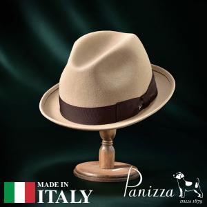 帽子 フェルトハット メンズ レディース Panizza パニッツァ MILANO PANNA ミラノ パンナ 中折れハット 秋冬|homeroortega