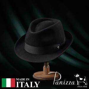 帽子 フェルトハット メンズ レディース Panizza パニッツァ BARI GIOIELLO バリジョイエロ ビーバーハット 秋冬 homeroortega