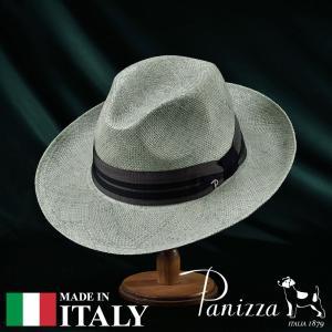 帽子 パナマハット メンズ レディース Panizza パニッツァ LA STRADA SEGNO ラ ストラーダ セーニョ ポークパイハット 春夏|homeroortega