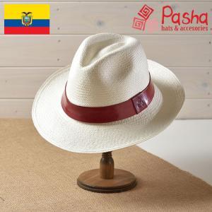 帽子 パナマハット メンズ レディース Pasha パシャ RED LAZO レッド ラゾ パナマ帽 春夏|homeroortega