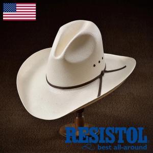 帽子/テンガロンハット/RESISTOL(レジストール)/THE PEACEMAKER(ピースメーカー)アメリカ製カウボーイハット/ウェスタン/メンズ・レディース|homeroortega