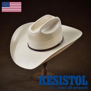 帽子/テンガロンハット/RESISTOL(レジストール)/CROSS TIE(クロス タイ)アメリカ製カウボーイハット/ウェスタン/メンズ・レディース|homeroortega