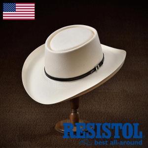 帽子/テンガロンハット/RESISTOL(レジストール)/GAMBLER(ギャンブラー)アメリカ製カウボーイハット/ウェスタン/メンズ・レディース|homeroortega