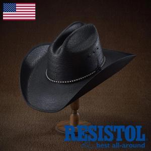 帽子/テンガロンハット/RESISTOL(レジストール)/ASPHALT COWBOY(アスファルト カウボーイ)アメリカ製カウボーイハット/ウェスタン/メンズ・レディース|homeroortega