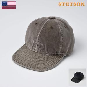 ベースボールキャップ メンズ レディース 帽子 STETSON ステットソン CORDUROY CAP SE127 コーデュロイキャップ SE127|homeroortega