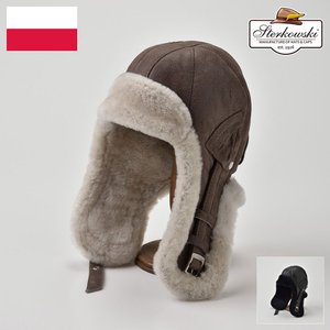 帽子/高級飛行帽/Sterkowski(ステルコフスキー)/Delling(デリング)ポーランド製フライトキャップ/メンズ・レディース|homeroortega