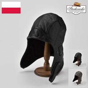 帽子/高級飛行帽/Sterkowski(ステルコフスキー)/Narvi(ナルヴィ)ポーランド製フライトキャップ/メンズ・レディース|homeroortega