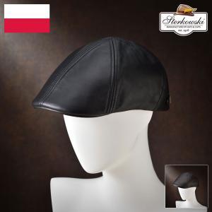 帽子/高級ハンチング帽/Sterkowski(ステルコフスキー)/Anas(アナス)ポーランド製キャスケット/メンズ・レディース|homeroortega