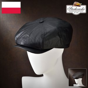 帽子/高級ハンチング帽/Sterkowski(ステルコフスキー)/Splendor(スプレンダ)ポーランド製キャスケット/メンズ・レディース|homeroortega