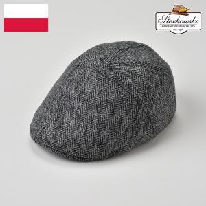 ハンチング 帽子 メンズ レディース 秋冬 Sterkowski ステルコフスキー Hilarusヒラルス|homeroortega