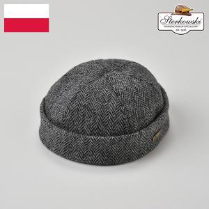 ロールキャップ メンズ レディース 帽子 秋冬 Sterkowski ステルコフスキー Lapisラピス|homeroortega