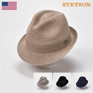 ソフトハット メンズ レディース 帽子 STETSON ステットソン MANISH THERMO KNIT SE105(マニッシュ サーモニット SE105)|homeroortega