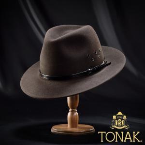 帽子/高級フェルトハット/TONAK(トナック)/GLAND(グラン)チェコ製中折れハット/メンズ・レディース|homeroortega