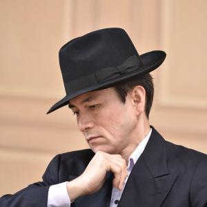 フェルトハット メンズ レディース ソフトハット S M L XL 黒 ラビット 紳士帽 TONAK ノーブル|homeroortega|11