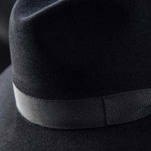 フェルトハット メンズ レディース ソフトハット S M L XL 黒 ラビット 紳士帽 TONAK ノーブル|homeroortega|06