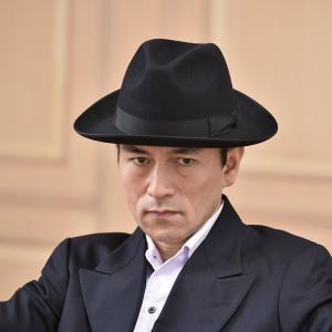 フェルトハット メンズ レディース ソフトハット S M L XL 黒 ラビット 紳士帽 TONAK ノーブル|homeroortega|07
