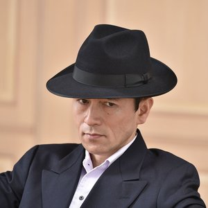 フェルトハット メンズ レディース ソフトハット S M L XL 黒 ラビット 紳士帽 TONAK ノーブル|homeroortega|08