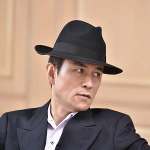 フェルトハット メンズ レディース ソフトハット S M L XL 黒 ラビット 紳士帽 TONAK ノーブル|homeroortega|10