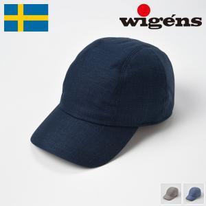 帽子 キャップ メンズ レディース Wigens ヴィゲーンズ Baseball Cap W120300(ベースボールキャップ W120300) 春夏 homeroortega
