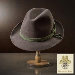 帽子/高級フェルトハット/Zapf(ツァップ)/Kaprun(カプルン)オーストリア製中折れハット/メンズ・レディース|homeroortega