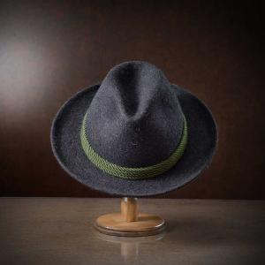 帽子/高級フェルトハット/Zapf(ツァップ)/Waldburg(ヴァルトブルク)オーストリア製中折れハット/メンズ・レディース|homeroortega|04