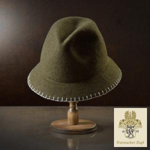 帽子/高級チロリアンハット/Zapf(ツァップ)/Toni(トニ)オーストリア製フェルトハット/メンズ・レディース|homeroortega