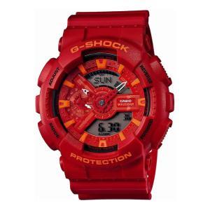 ※欠品中:納期10月上旬予定 CASIO カシオ 腕時計 G-SHOCK(Gショック) GA-110AC-4AJF【ブルー&レッドシリーズ】【代引き手数料・送料無料】【メール便不可】 homeshop
