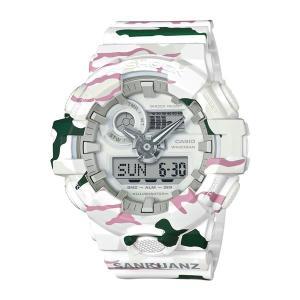 ※お1人様1個まで【9月新商品】【国内正規品】[カシオ]CASIO 腕時計 GA-700SKZ-7AJR [ジーショック]G-SHOCK 限定 SANKUANZコラボモデル【メール便不可】 homeshop