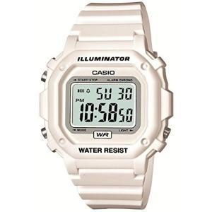 【メール便可:1個まで】【メール便の場合 化粧箱なし】CASIO(カシオ) 【腕時計】 F-108WHC-7BJF STANDARD[スタンダード] ホワイト×ホワイト homeshop