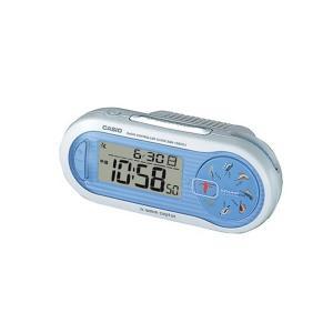 CASIO(カシオ)(置時計/クロック)SQD-1000SJ-2JF(デジタル 電波受信機能付き ブルー)(SQD1000SJ2JF)(メール便不可) homeshop