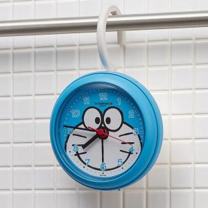 リズム時計 強化防滴・防塵型 ドラえもん バスクロック 4KG716DR04  アイムドラえもん(防水 お風呂クロック 時計 置時計 キャラクター時計 ウオッチ)|homeshop|03