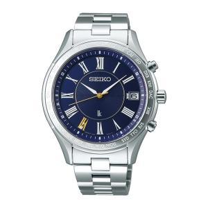 (国内正規品)(セイコー)SEIKO 腕時計 SSVH031 LUKIA(ルキア) メンズ ペアモデル 2019 エターナルブルー 限定 電波ソーラー アナログ|ホームショッピング