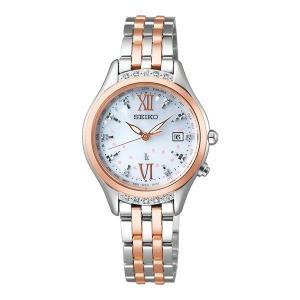 (セイコー)SEIKO 腕時計 SSVV058 LUKIA(ルキア) レディース 2020 SAKURA Blooming 限定 ステンレスバンド 電波ソーラー アナログ(国内正規品)|ホームショッピング