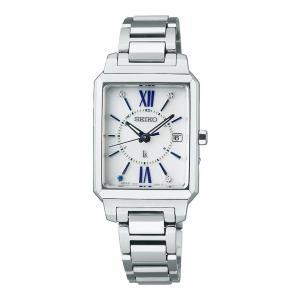 セイコー SEIKO 腕時計 SSVW197 ルキア LUKIA レディース セイコー創業140周年記念 限定 電波ソーラー ステンレスバンド アナログ(国内正規品)|ホームショッピング