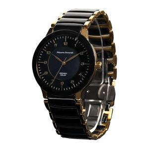 (正規輸入品)(マウロジェラルディ)Mauro Jerardi 腕時計 MJ043-1 メンズ(セラミックバンド ソーラー アナログ)(メール便不可) homeshop