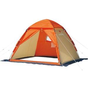 キャプテンスタッグ M-3131 ワカサギ釣りワンタッチテント210 コンパクト オレンジ(メール便不可)|homeshop