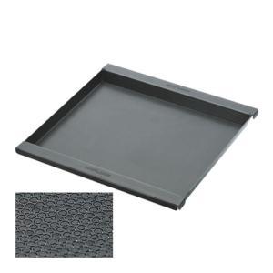 ・サイズ = 320×323×20mm ・材質 = 黒皮鉄板2.0mmエンボス加工 (クリアラッカー...