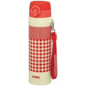 サーモス(THERMOS) (真空断熱ケータイマグ)JNT-550 (R-OR) レッドオレンジ (0.55L/0.55リットル)(水筒)(メール便不可)|homeshop