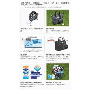 THERMOS(サーモス)保冷ラウンドトートバッグ(REN-001)ブラックカモフラージュ (BK-C)(メール便不可)|homeshop|02