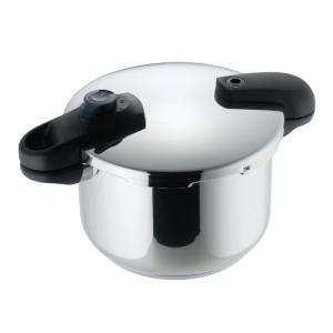 パール金属 HB-5136 クイックエコ 3層底切り替え式両手圧力鍋 5.5L(8合炊き)(IHなど...