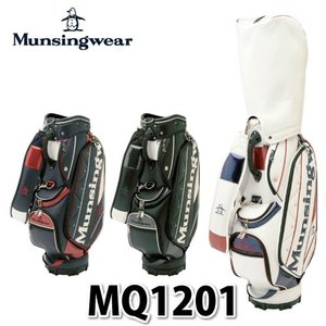 【ネームプレート刻印可】Munsingwear キャディバッグ MQ1201 【メール便不可】【ラッピング不可】 homeshop