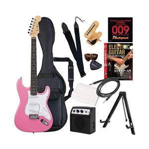 (メーカー直送)(代引不可) ST-180/PK ピンク PhotoGenic エレキギター (メール便不可)(ラッピング不可)の商品画像|ナビ