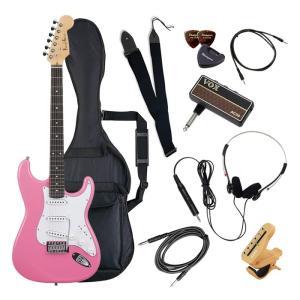 (メーカー直送)(代引不可) ST-180/PK ピンク PhotoGenic エレキギター (メー...