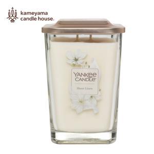 YANKEE CANDLE(ヤンキーキャンドル) キャンドル K0730505 シアーリネン エレベ...