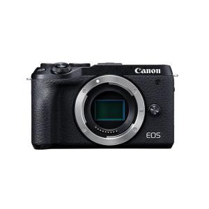 キヤノン ミラーレスカメラ EOS M6 Mark II ブラック ボディ (3611C004) (...