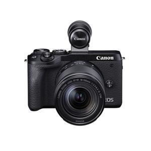 キヤノン ミラーレスカメラ EOS M6 Mark II ブラック EF-M18-150 IS ST...