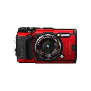 OLYMPUS オリンパス コンパクトデジタルカメラ Tough TG-6 レッド  あらゆる環境下...